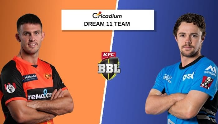Catch Whom to Pick for BBL 2019-20, PRS vs ADS Match 51 Dream 11 Team Today. PRS vs ADS Dream 11 Team Today, Best Players to Pick for today