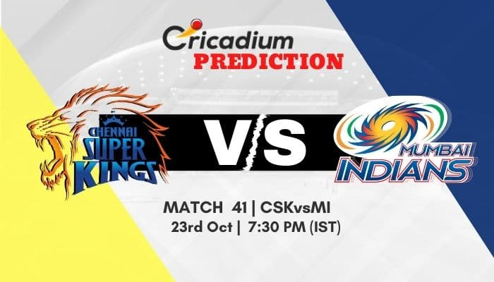IPL 2020 Match 41 CSK vs MI Match Prediction Who Will Win Today IPL