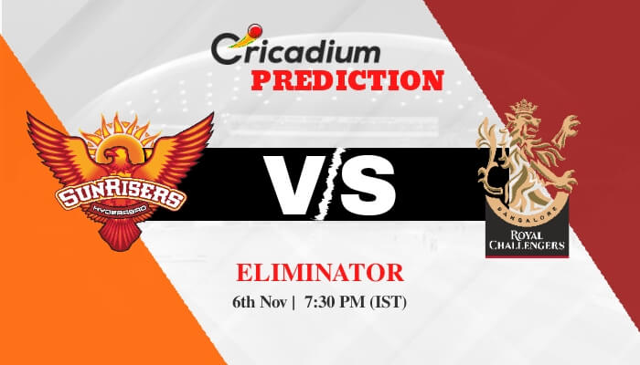 IPL 2020 Eliminator SRH vs RCB Match Prediction Who Will Win Today IPL