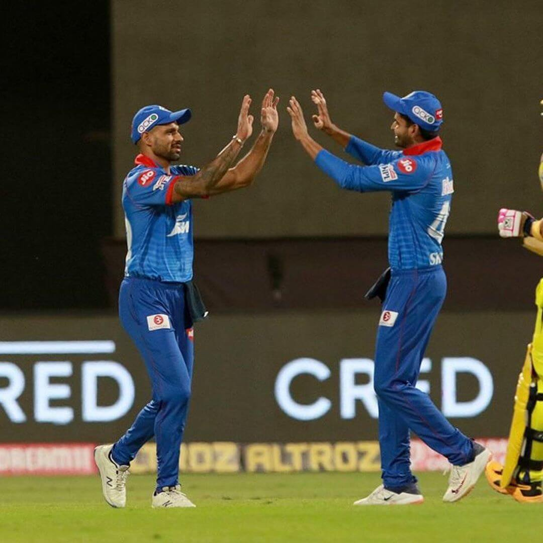 While Delhi Capitals defeated Sunrisers Hyderabad in Qualifier 2.