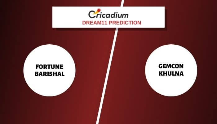 FB vs GK Dream11 Team: Fortune Barishal vs Gemcon Khulna Dream11 Fantasy Cricket Tips for Today's Bangabandhu T20 Cup 2020 Match 11, Dec 4th, 2020