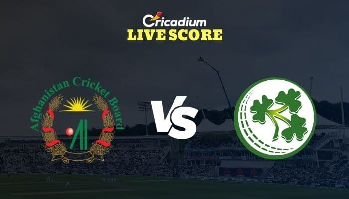 AFG vs IRE Live Score: Ireland Tour of Afghanistan 2020-21 2nd ODI Afghanistan vs Ireland Live Cricket Score