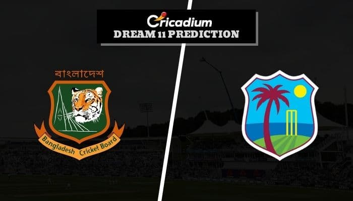West Indies Tour of Bangladesh 2020-21 2nd ODI BAN vs WI Dream11 Team Today