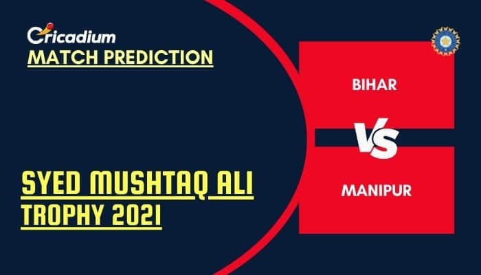 BIH vs MNP Match Prediction Who Will Win Today Syed Mushtaq Ali Trophy 2021 Plate