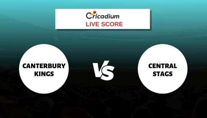 Canterbury Kings vs Central Stags