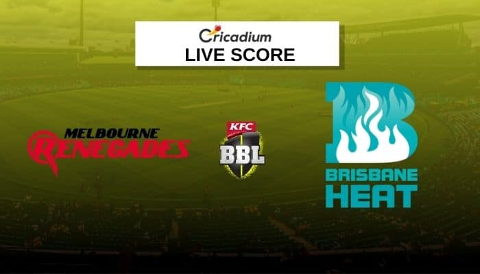 Big Bash League 2020-21 Live Score: REN vs HEA Match 49 Live Cricket Score Ball by Ball Commentary, Scorecard & Results