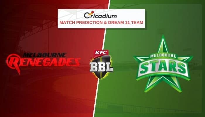 Big Bash League 2020-21 Match 45 REN vs STA Prediction and Dream11 Team Today
