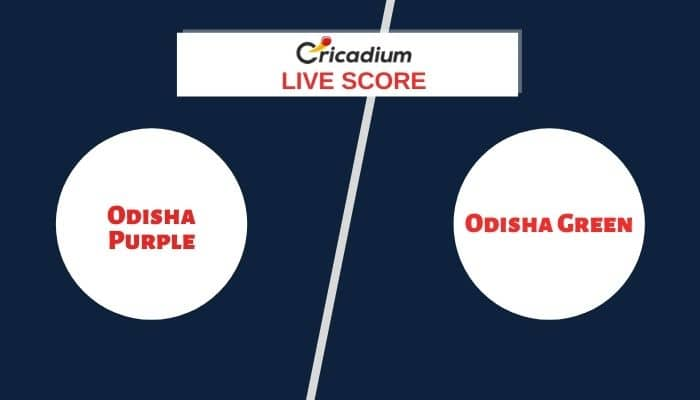 Odisha Women's Cricket League 2020-21 Match 6 ODP-W vs ODG-W Live Cricket Score