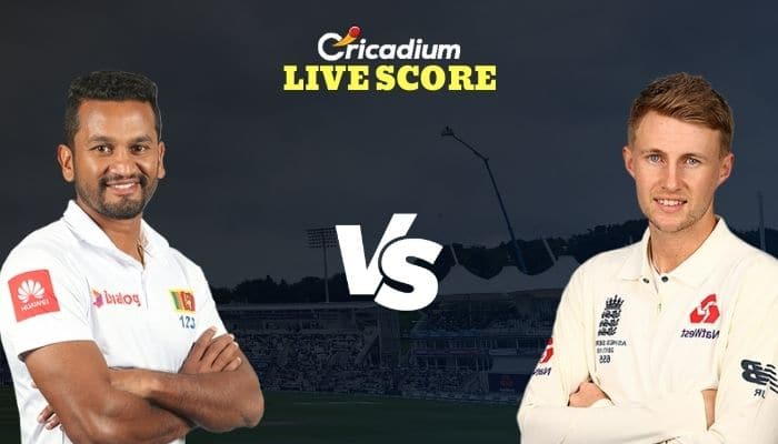 SL vs ENG Live Score: England Tour of Sri Lanka, 2021 2nd Test Sri Lanka vs England Live Cricket Score
