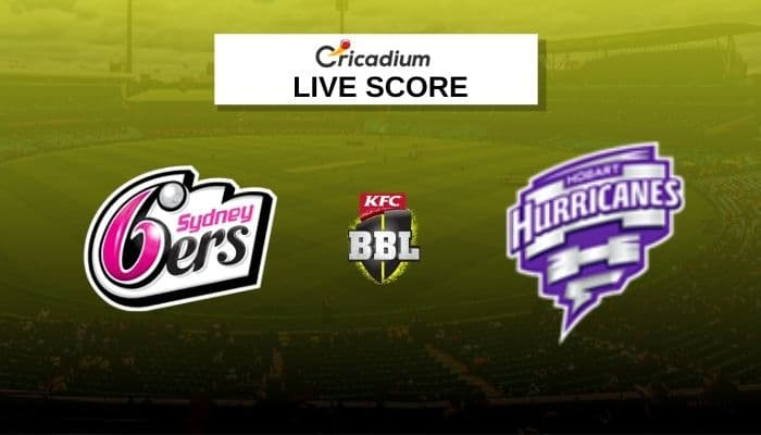 Big Bash League 2020-21 Live Score: SIX vs HUR Match 52 Live Cricket Score Ball by Ball Commentary, Scorecard & Results