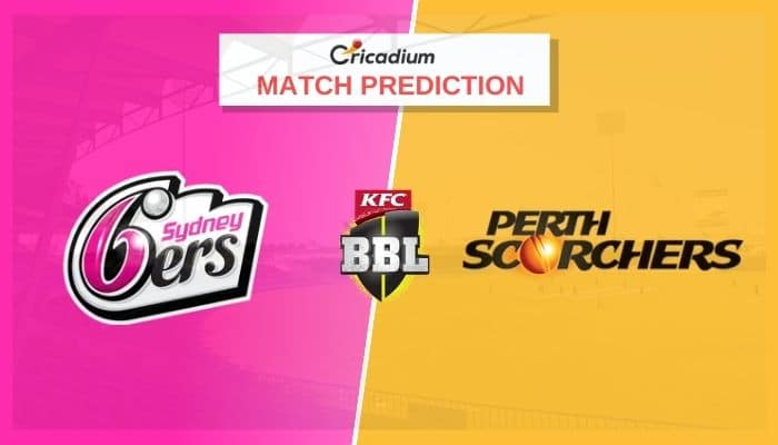 SIX vs SCO Match Prediction Who Will Win Today BBL 2020-21 Match 41