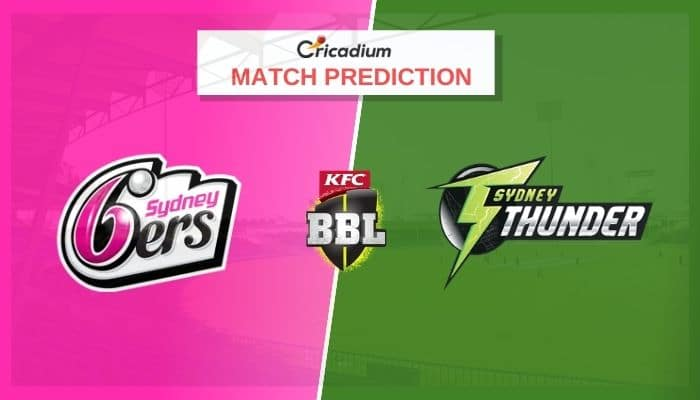 SIX vs THU Match Prediction Who Will Win Today BBL 2020-21 Match 48