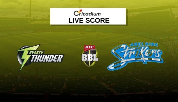 Big Bash League 2020-21 Live Score: THU vs STR Match 51 Live Cricket Score Ball by Ball Commentary, Scorecard & Results