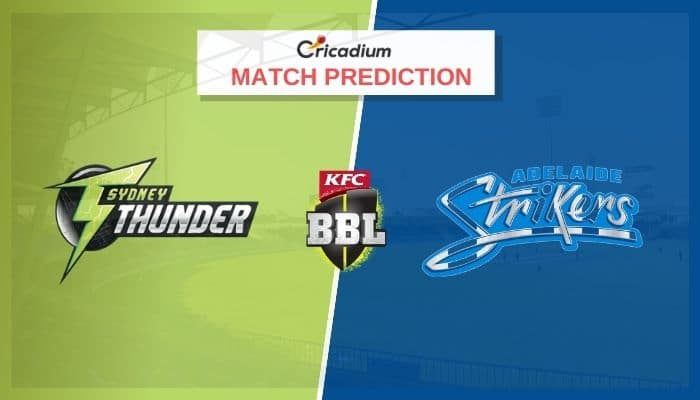THU vs STR Match Prediction Who Will Win Today BBL 2020-21 Match 51