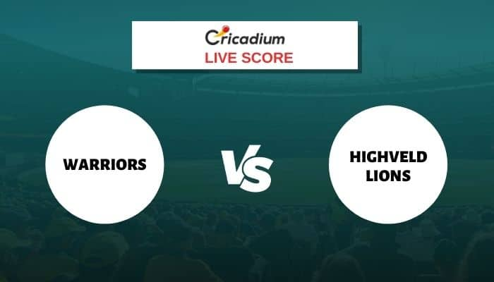 Momentum One Day Cup 2021 Live Score: WAR vs HL Match 8 Live Cricket Score Ball by Ball Commentary, Scorecard & Results